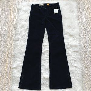 NWT Anthro Pilcro and the letterpress flare pants